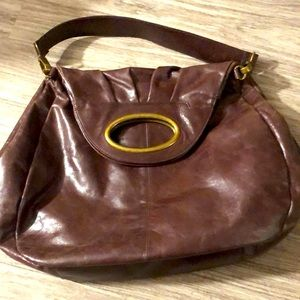 Large HOBO bag with magnetic closures & pockets